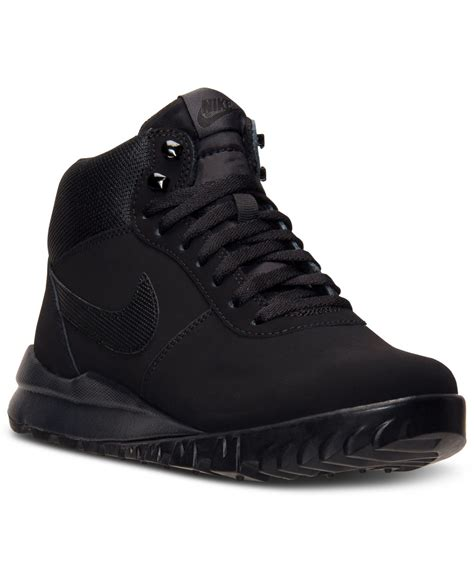 nike sneaker boots mens lyst nike s hoodland suede boots from finish line in