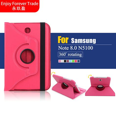360 Casecasing Cover Hp Samsung Note 3 Note 4 Note 5 Free Tempered rotating 360 pu leather cover for samsung galaxy