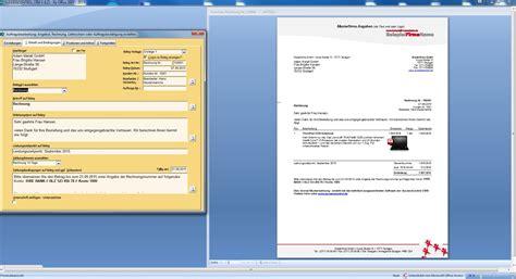 Angebot Vorlage Modern rechnungen schreiben in ms office einfach schnellcrm