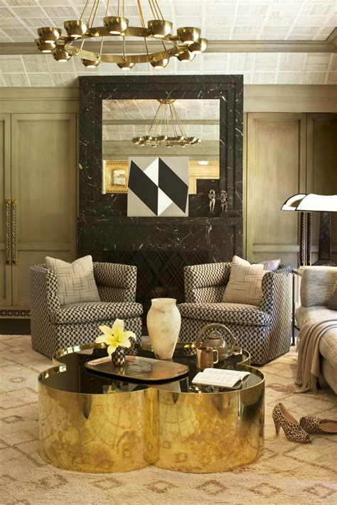 interior decorating themes interior design trends 2016 decorating with metallics
