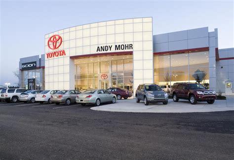 andy mohr toyota custom facilities