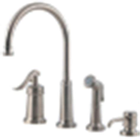 pfister gt26 4ypk ashfield 4 hole kitchen faucet with pfister gt26 4ypk ashfield 4 hole kitchen faucet with