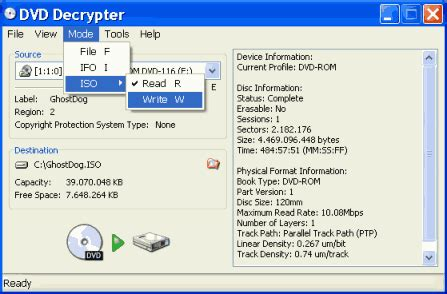 tutorial nfe delphi how to copy a dvd 5 9 using dvd decrypter
