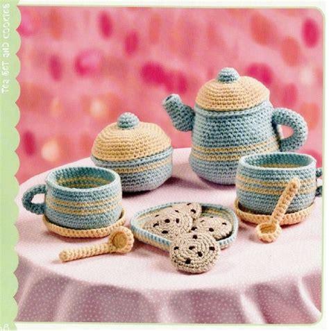 Kitchen Set 5828 2 Toys 29 best images about tea set crochet on