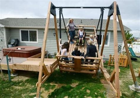 cool swings 14 incredible swing sets take you back to your childhood