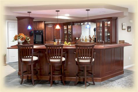bar ideas for basement