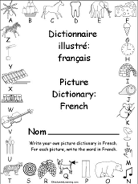 French Language Activities at EnchantedLearning.com