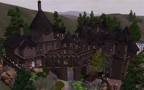 Gatsby Mansion Floor Plan mod the sims hogwarts school of witchcraft and wizardry