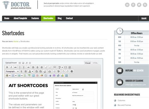 google themes doctor who doctor wordpress theme for medical professionals wp solver