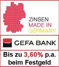gefa bank festgeld neu gefa bank f 246 rdert den mittelstand