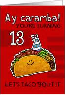 birthday card for 13 year 13th birthday cards from greeting card universe