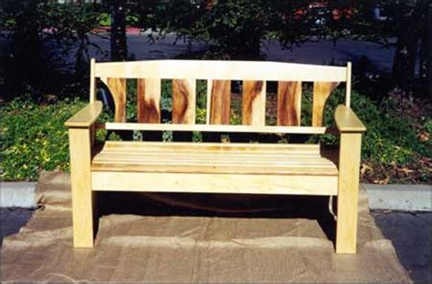 how to make a wooden park bench outdoor wooden bench plans outdoor park benches treenovation