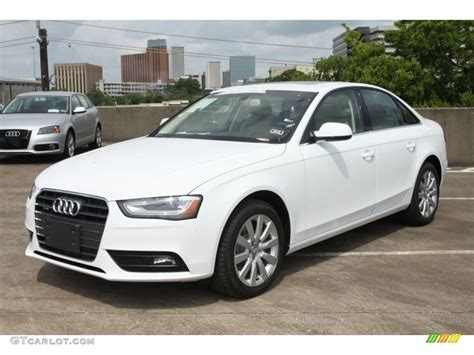 Audi Quattro White by Ibis White 2013 Audi A4 2 0t Quattro Sedan Exterior Photo