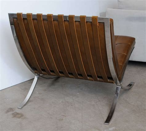 mies van der rohe barcelona bench vintage mies van der rohe quot barcelona quot chair and ottoman at