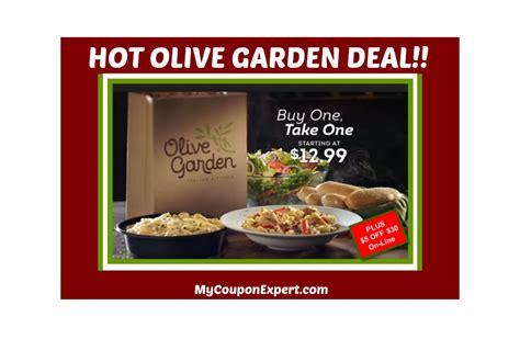 olive garden bogo deal plus a 5 00 30 00 coupon