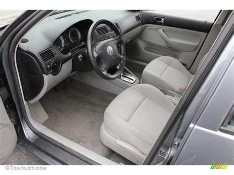 2004 volkswagen jetta interior grey interior 2004 volkswagen jetta gl sedan photo