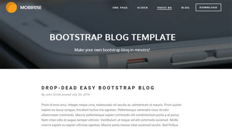 theme bootstrap free blog best of 2015 100 best free html and css themes noupe