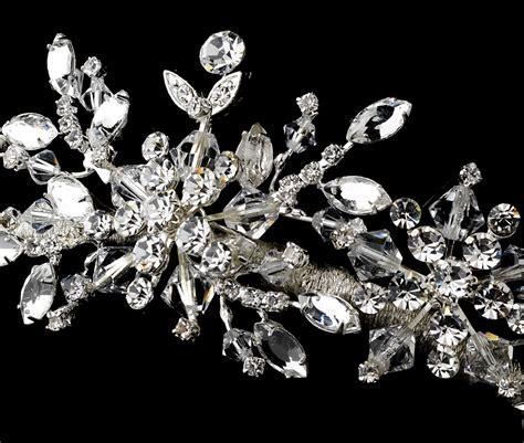 snowflake wedding hair accessories swarovski snowflake wedding tiara elegant bridal hair