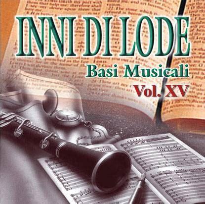 librerie evangeliche inni di lode volume 15 basi musicali chiese