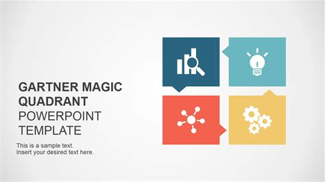 powerpoint cover page template gartner magic quadrant cover slide slidemodel