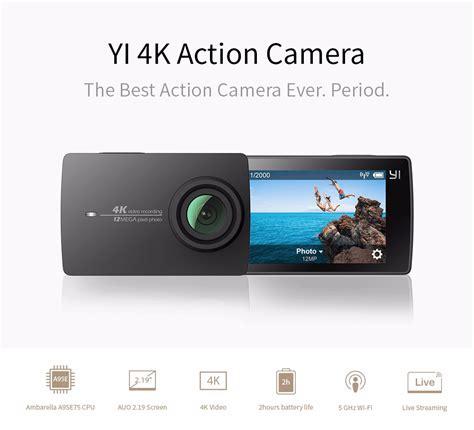Xiaomi Yi 4k 12mp For Sport Travel Not Gopro official yi malaysia 2018 xiaomi xiaoyi yi 4k 12mp sport