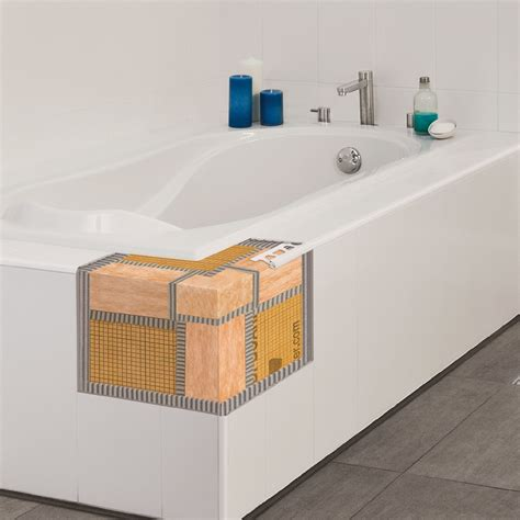 bathtub cutaway tub decks schluter com