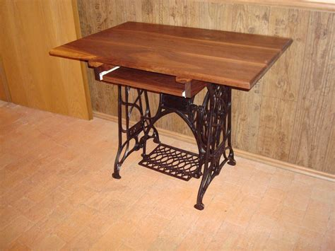 sold old treadle sewing machine computer desks by
