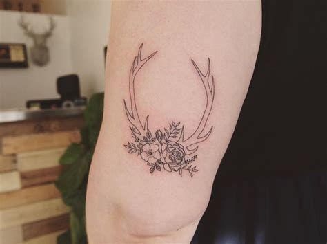 deer horn tattoos 25 best ideas about country on country