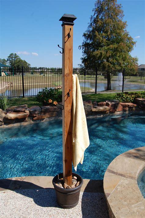 outdoor pool towel storage poolside towel rack outside stuff pinterest