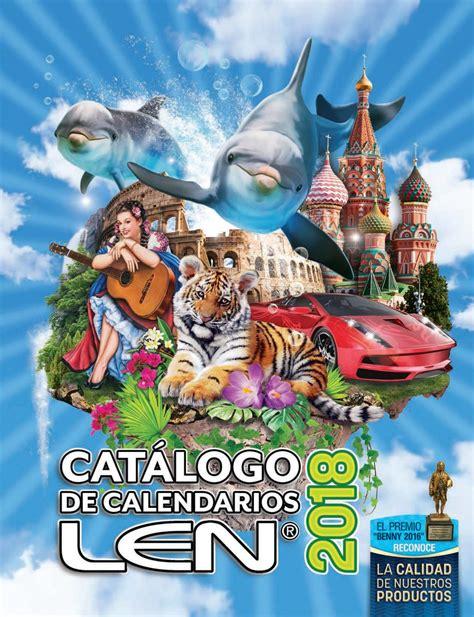 Calendarios Len Cat 225 Logo Calendarios Len 2018 By Calendarios Len Issuu