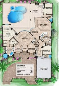 Florida House Plans by Cascading Roof Lines