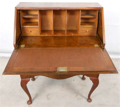 vintage queen anne desk queen anne desk antique antique furniture