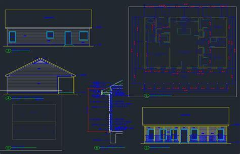 plan set house plan set 3 2 cabin cad files dwg files plans