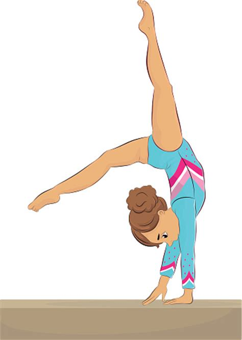 gymnastics clipart gymnastics clipart person balance pencil and in color