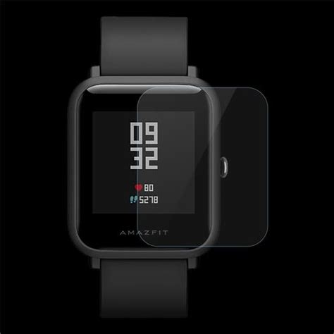 Smartwatch Bipbip amazfit bip smartwatch pet protective screen transparent