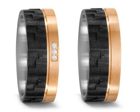 Eheringe Bronze by Partnerringe Hochzeitsringe Aus Titan Mit Bronze