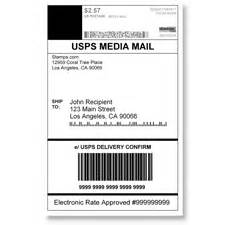 stamps com media mail usps media mail shipping