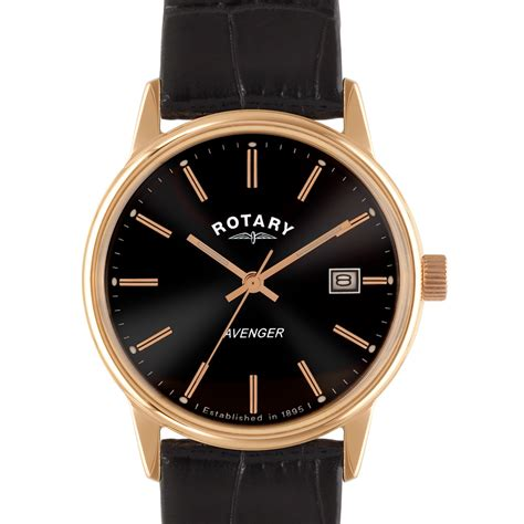 rotary avenger gold plated gs02877 04