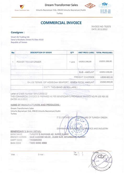 Helpingtohealus Gorgeous Commercial Invoice Template