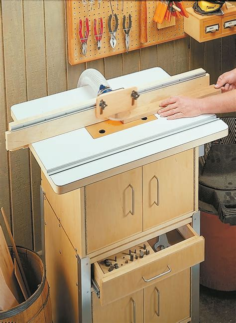 modular router table woodworking project woodsmith plans