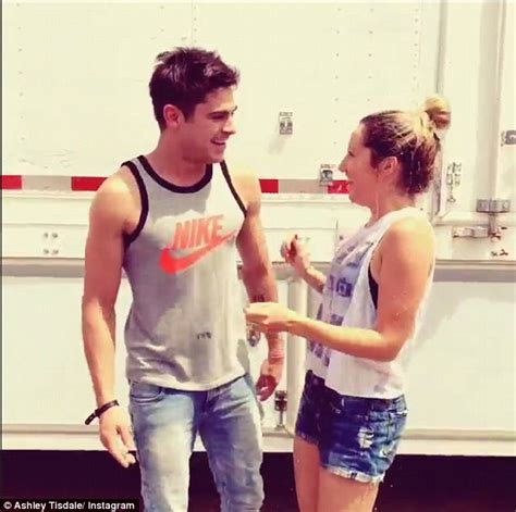 Zac Efron And Ashley Tisdale Cuddle Up In Instagram Video | zac efron and ashley tisdale cuddle up in instagram video
