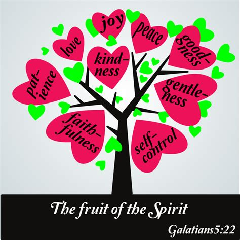 fruit of the spirit clipart the fruit of the spirit galatians 5 25