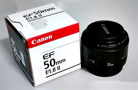 Lensa Fix Canon Ef 50mm F1 8 Ii page 8 retno widyastuti