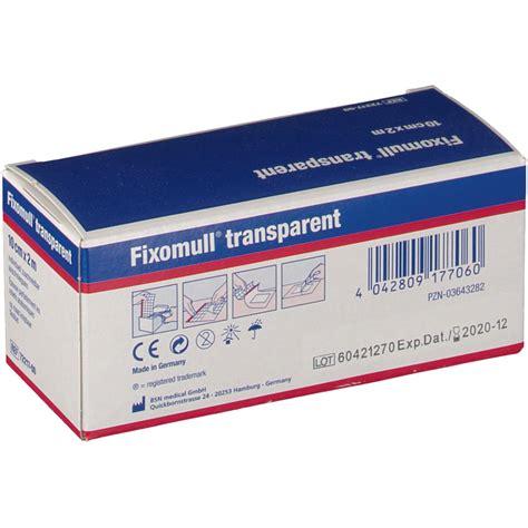 Fixomull Transparent fixomull 174 transparent 10 cm x 2 m shop apotheke
