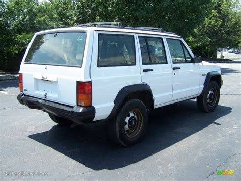 jeep cherokee sport white 1995 stone white jeep cherokee sport 51669994 photo 6
