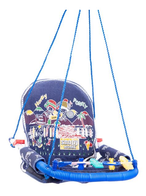 toddler swing india buy jiya baby swing jeans blue online in india kheliya