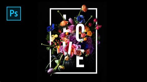 beautiful typography tutorial photoshop how to create beautiful floral typography design in