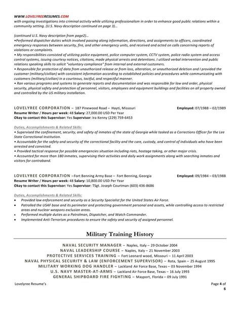 E Resumes by Classic Executive Professional Resume With Cover Letter