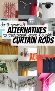 Diy curtain rods on remodelaholic com allthingswindows curtains