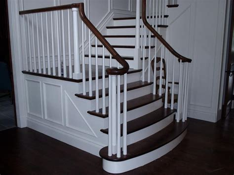 Stair Pickets Stair With Wood Pickets Staircase By
